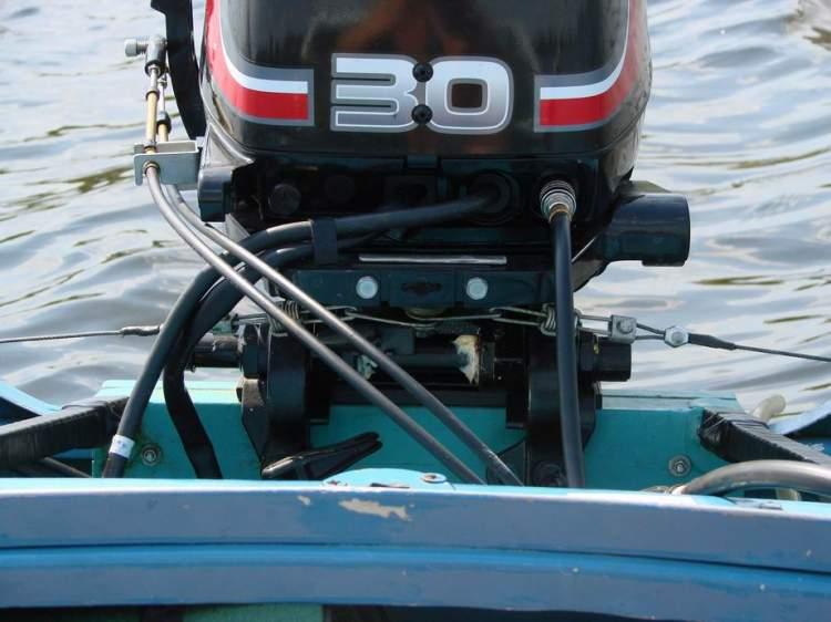 как установить дистанционное на лодку