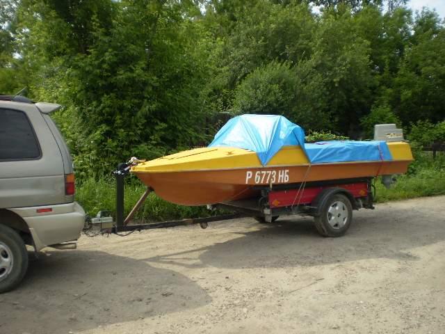 как сделать обычный прицеп под лодку