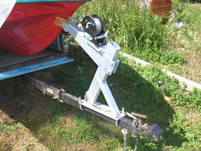 Оборудование для прицепа под лодку