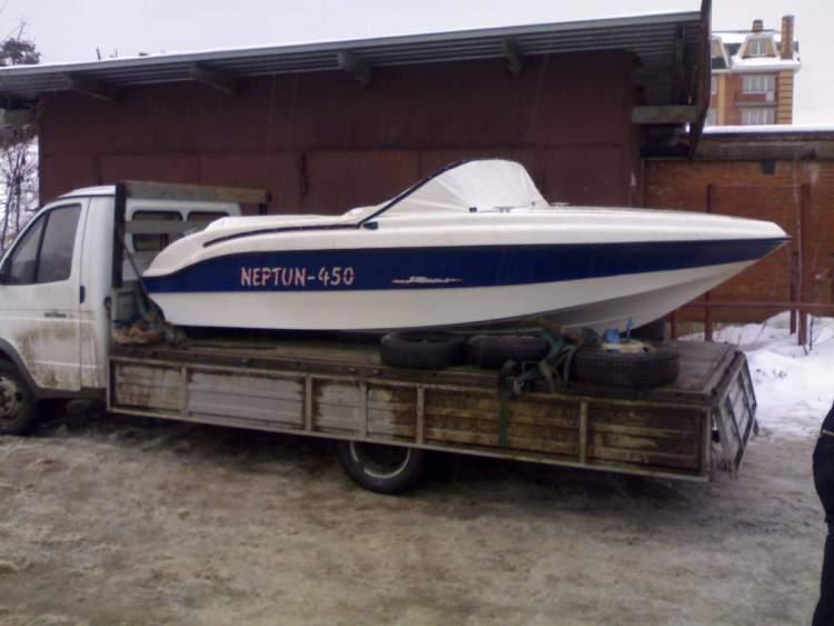 Продается катер Нептун-450 с мотором