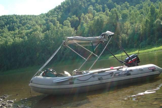 Тюнинг лодки из пвх своими руками