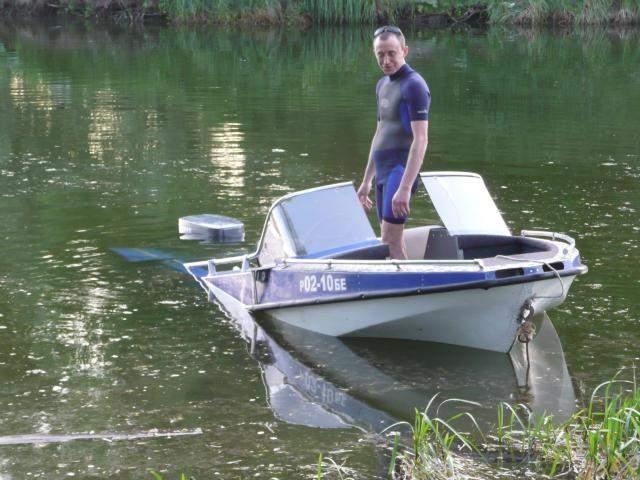 доработка лодки обь-м
