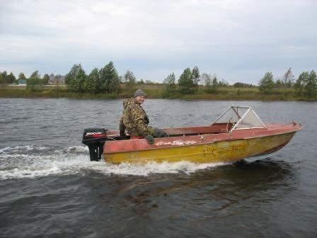 лодка крым на румпеле
