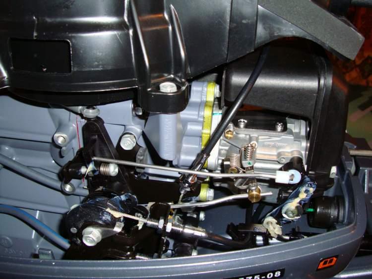 переделка лодочного мотора замена двигателя