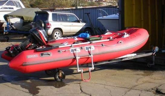 Лестница для лодки пвх своими руками 143