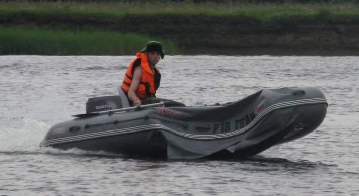 лодка пвх посейдон 520 купить бу