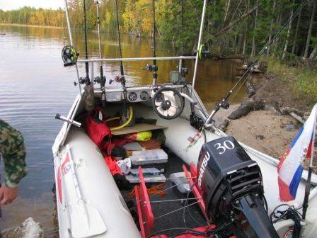 Доработка лодок пвх своими руками