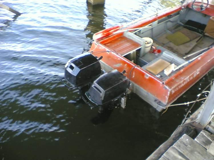 длина лодки казанка 5м3