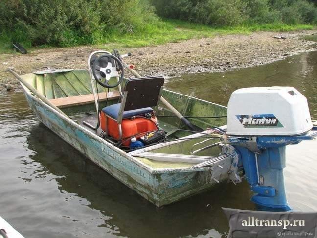 какой мотор на лодку ерш