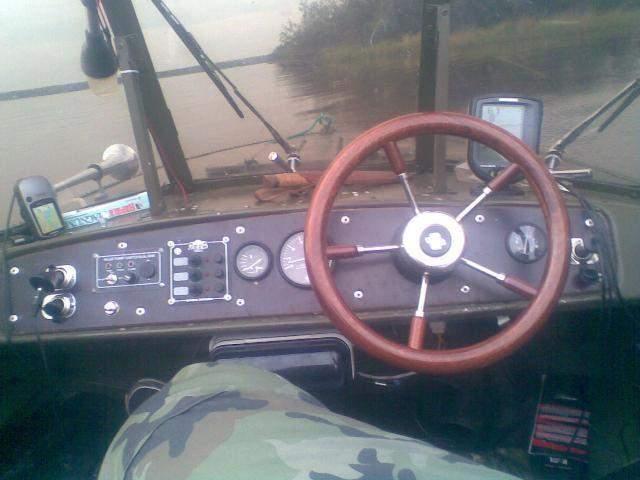 Приборная панель катера своими руками 42