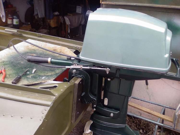 газ реверс на подвесные лодочные моторы