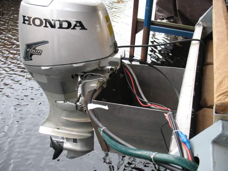как сделать выносной бак на лодочный мотор