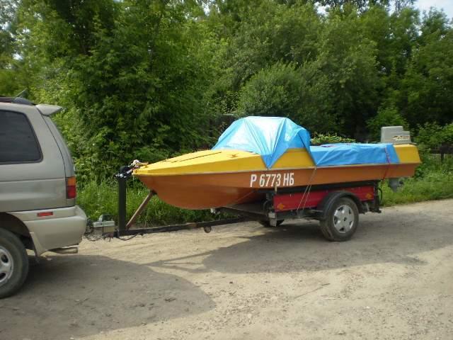 хранение лодок с прицепом