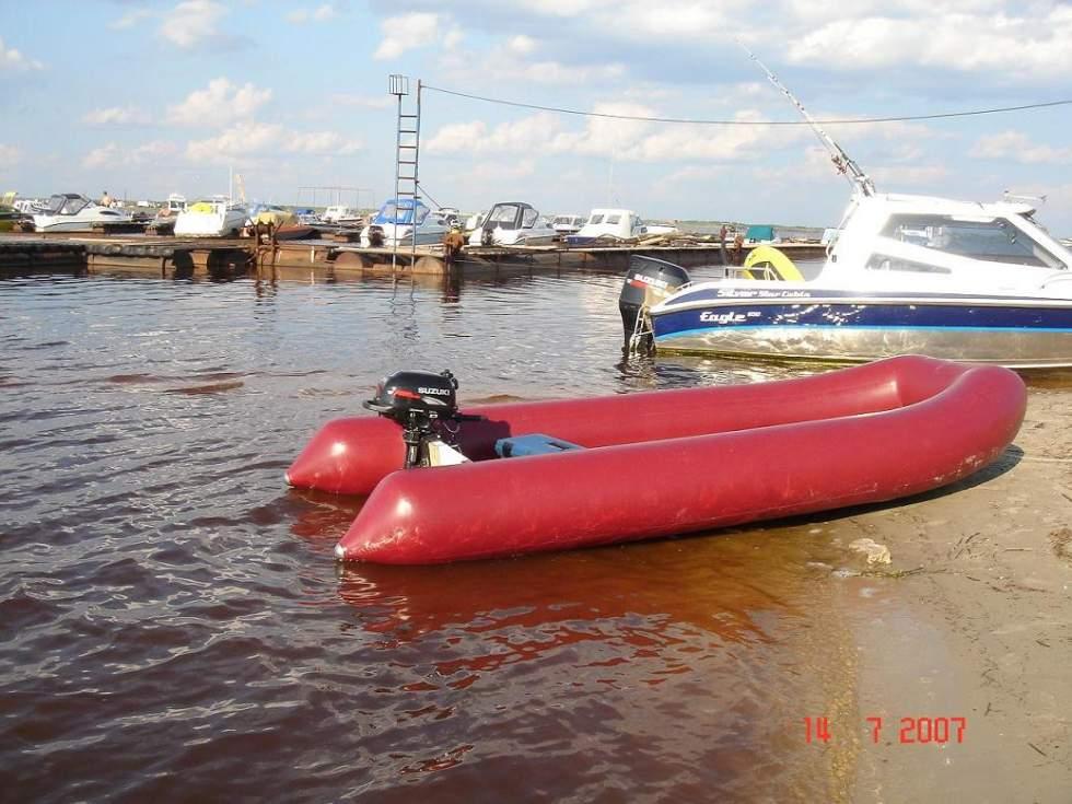 Надувная лодка  чертежи 22
