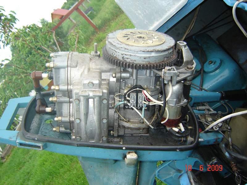 почему не заводится лодочный мотор вихрь 25