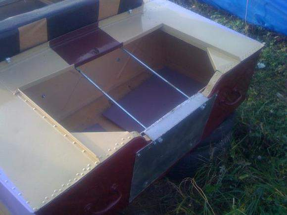 усиленные выносные транцы на лодках