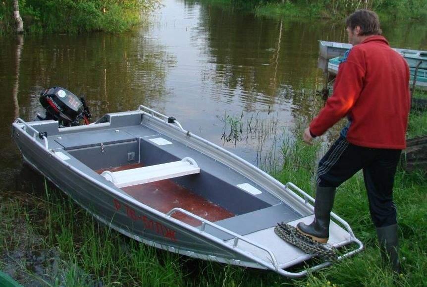 Лодка свои руками под мотор