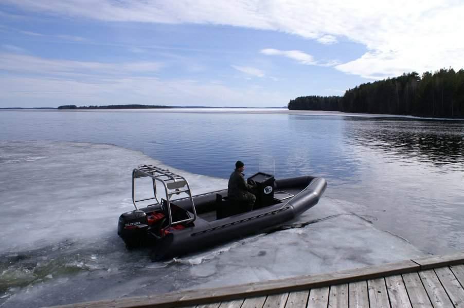 лодки из полиэтилена black