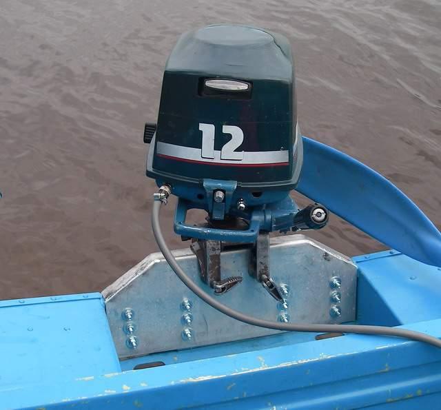 как отрегулировать мотор на лодке пвх видео
