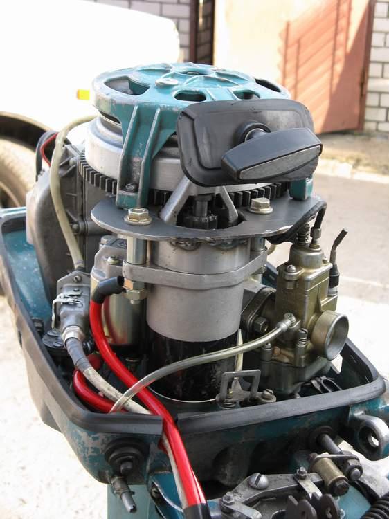 Электро запуск лодочного мотора