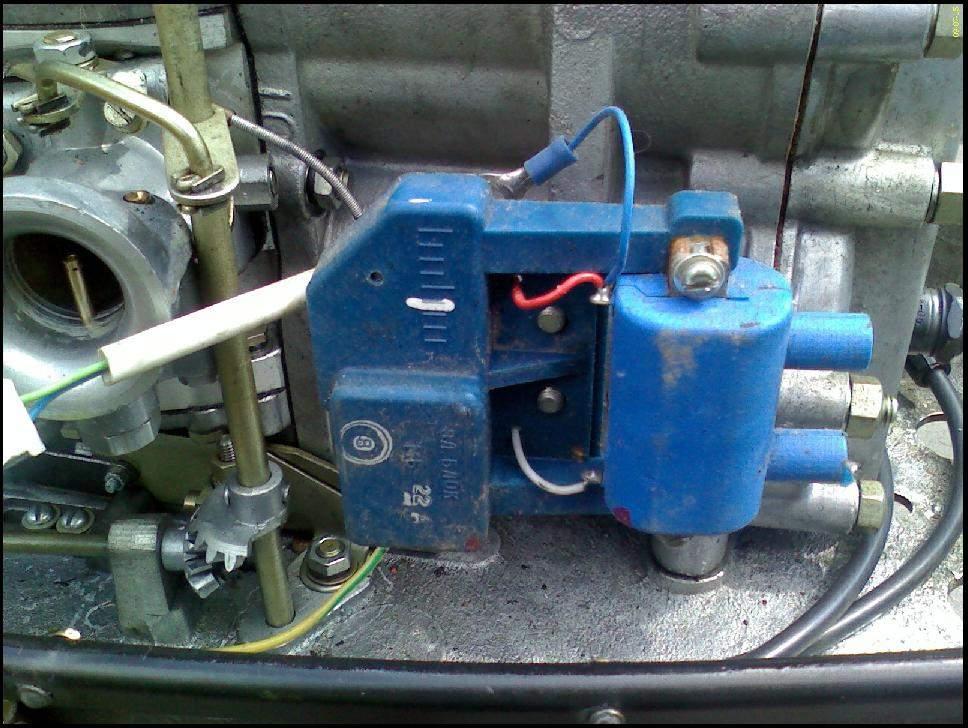 электронное зажигание для лодочного мотора вихрь