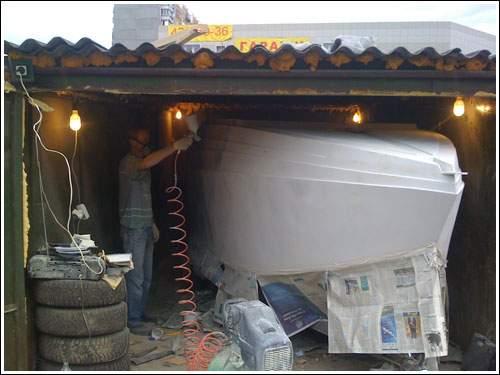 лодочные гаражи как построить