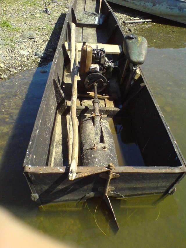 водометный двигатель для лодки своими руками