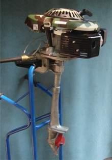 нога лодочного мотора своими руками