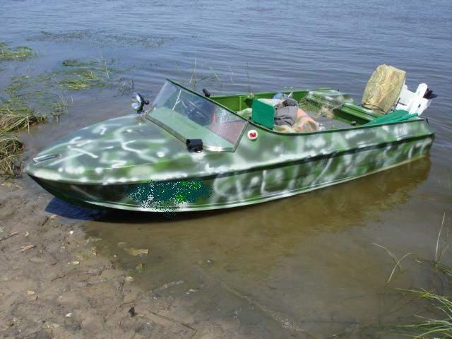 Лодка неман и обь