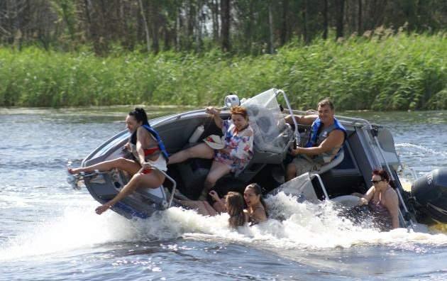 можно ли беременным ездить на лодке