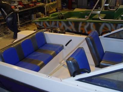 задний рундук лодки прогресс 2