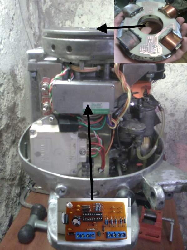 все о электронном зажигании на лодочный мотор нептун 23
