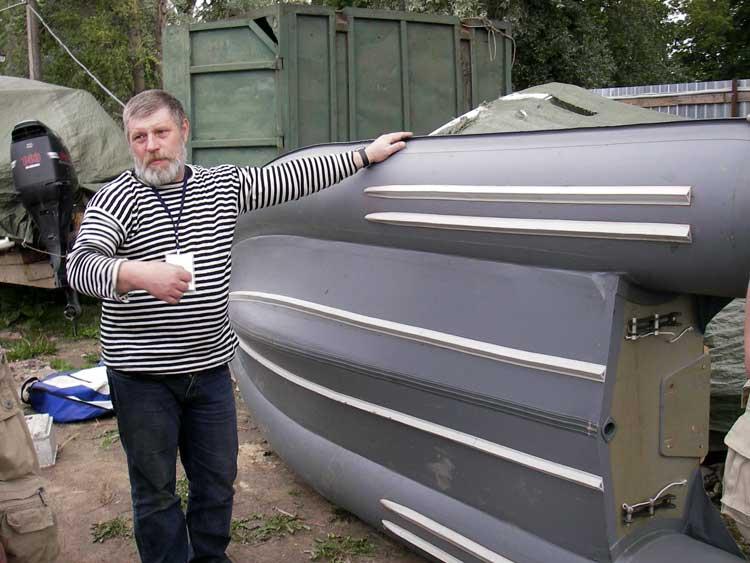 килевое дно на лодку пвх
