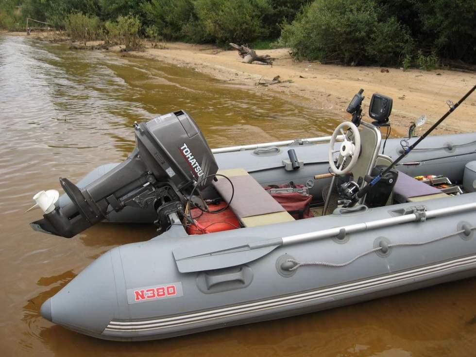 дистанционное управление на лодку пвх с нднд