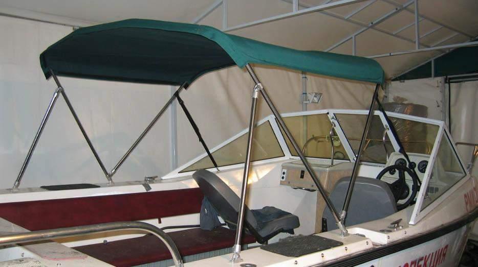 Тент на алюминиевую лодку своими руками 140
