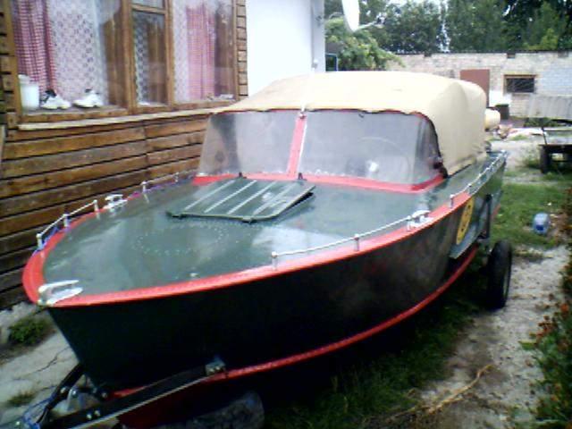 Подготовка к покраске лодки казанка