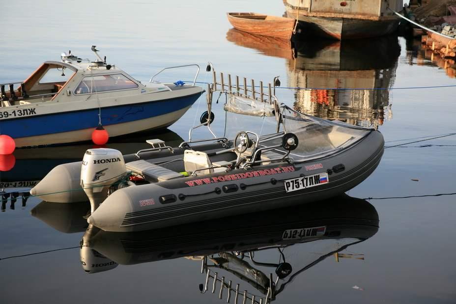 дополнительное оборудование для лодок посейдон