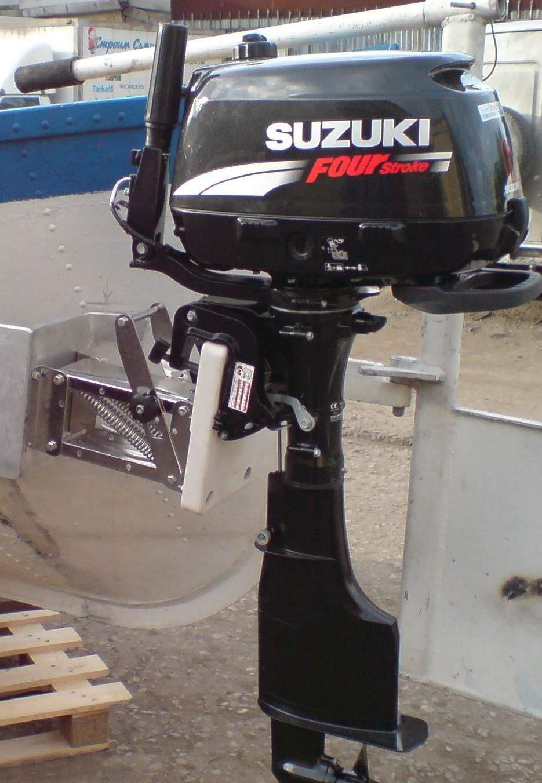 установка доп лодочного мотора