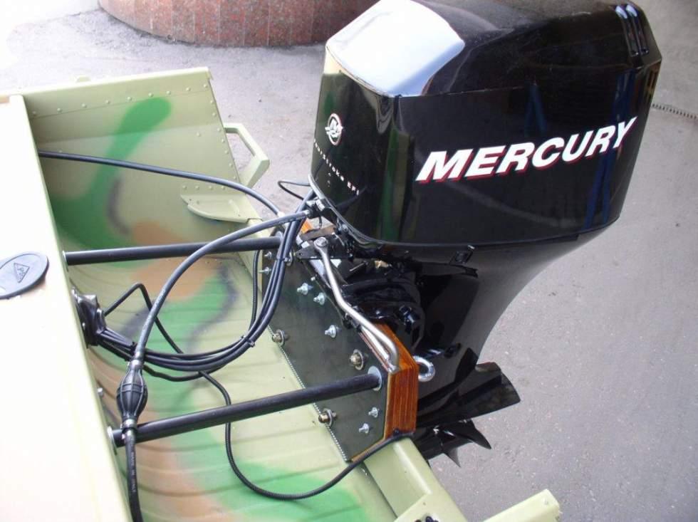 установка лодочного мотора на днепре
