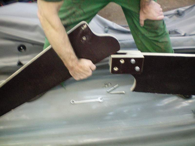 Как сделать киль для лодки пвх своими руками 567