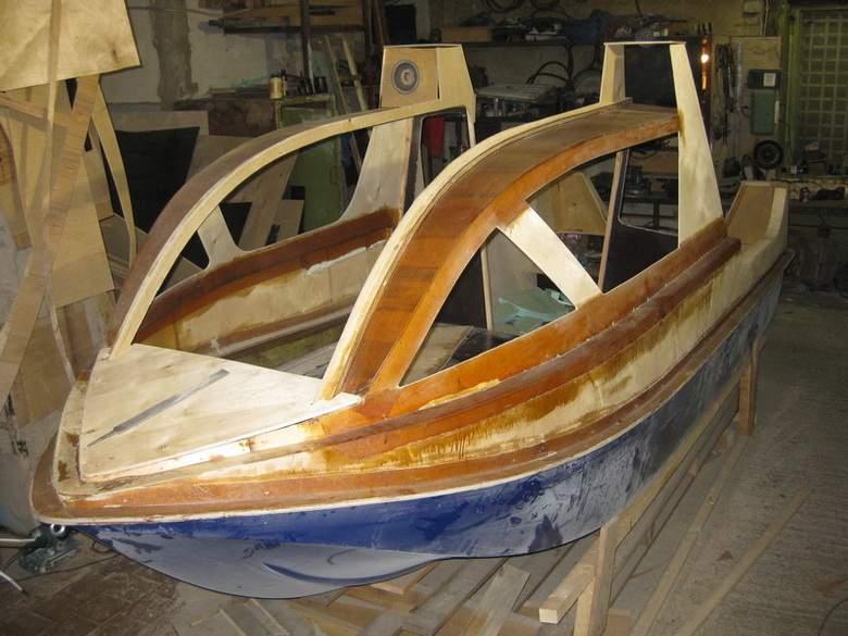 Лодка-катер своими руками