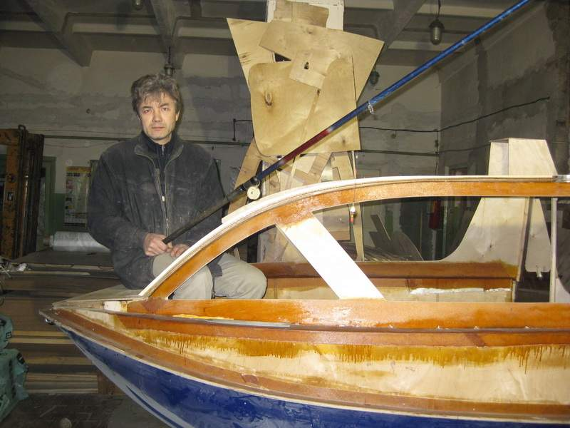 самодельные лодки прогресс