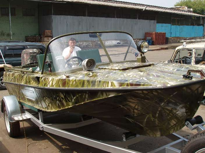 Покраска лодку в камуфляж своими руками видео
