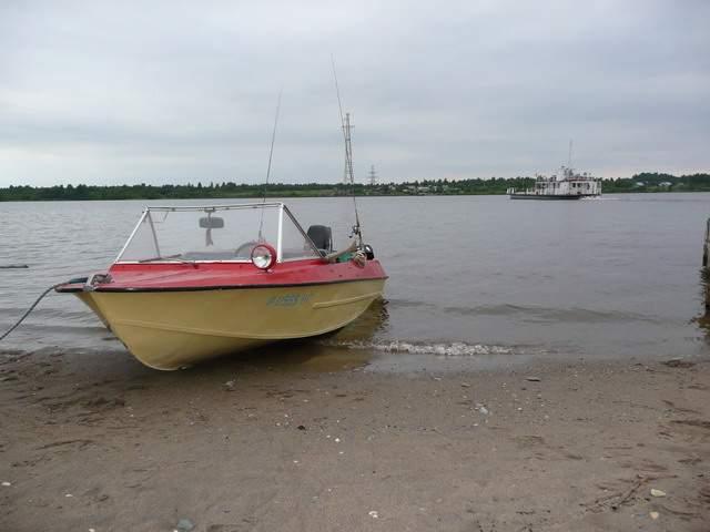установить фару на лодку