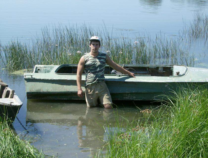 лодка на оби фото