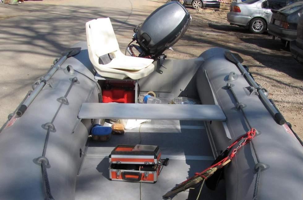 крепление кресла в лодке пвх