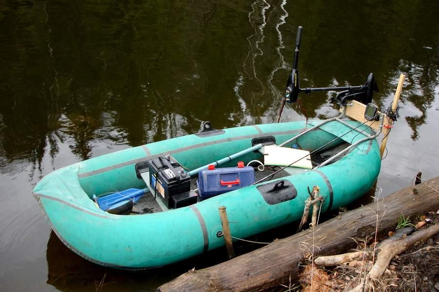 Как сделать мотор на резиновую лодку своими руками 48