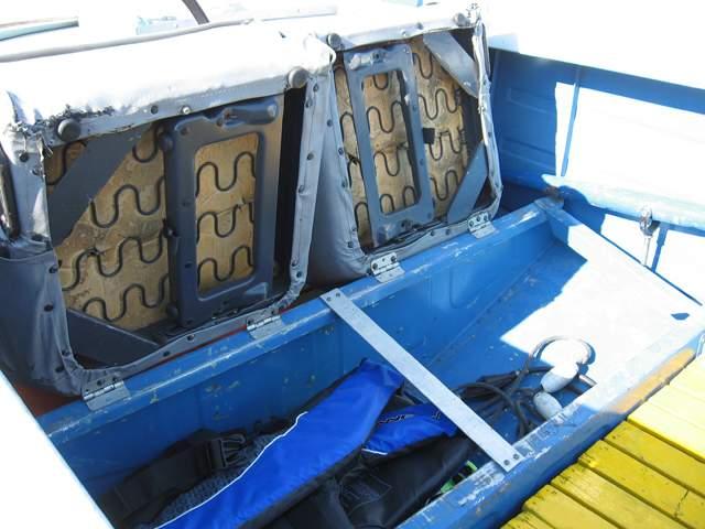 сиденья в лодке ока-4