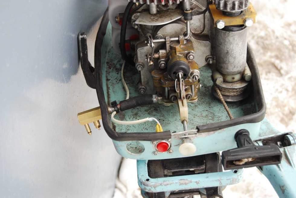 обслуживание карбюраторов лодочных моторов