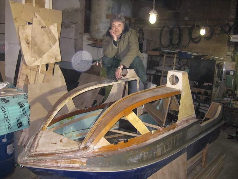 как построить экипаж на лодке